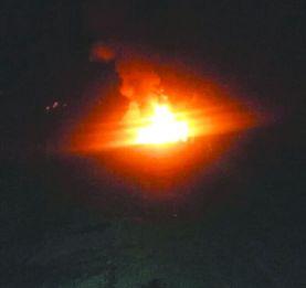Antsampanana - 2 poids lourds prennent feu lors de terribles collisions