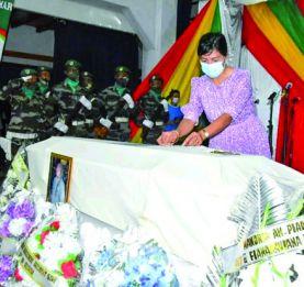Sammy Rastafanahy - Elevé au rang de Chevalier de l'Ordre national à titre posthume
