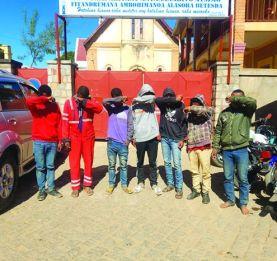 Alasora - 7 individus  dont un gendarme arrêtés pour vol