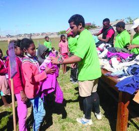 Rugby- Association Pachamama/RCTS - Engouement des soutiens pour les enfants de l'ovale