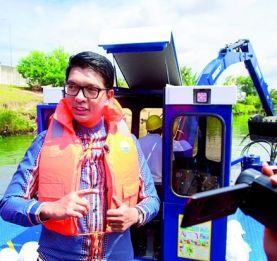 Canal des Pangalanes et Route nationale 5 - Andry Rajoelina supervise le début des grands travaux
