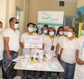 « Capricornus » au centre Vonjy Befelatanana - Des médicaments pour les victimes de viol