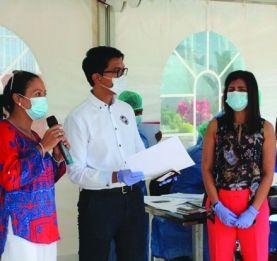 Croisade contre la pandémie - Andry et Mialy Rajoelina sur le terrain