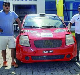 Rallye international de Madagascar - 41 équipages au départ